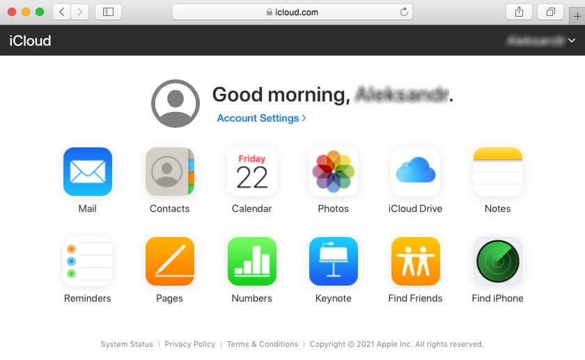Store files in iCloud