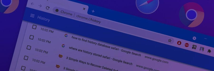 How to Recover Deleted History on a Mac for Google Chrome or Safari